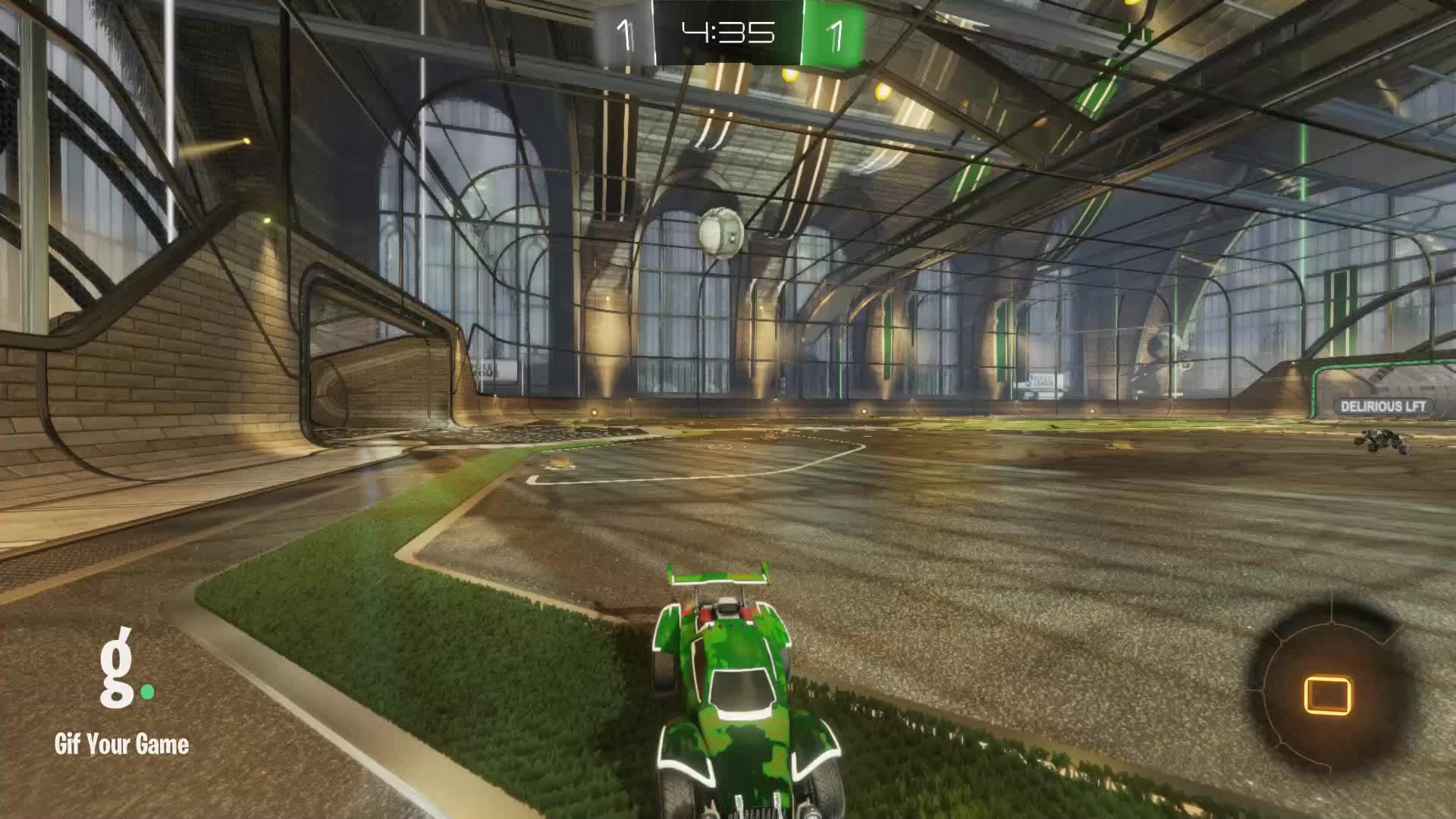 Gif Your Game, GifYourGame, Goal, Linux Cow | Ceiling shots only?, Rocket League, RocketLeague, Goal 3: Linux Cow | Ceiling shots only? GIFs