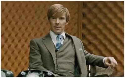 Benedict Cumberbatch, Martin Freeman, Shrug GIFs