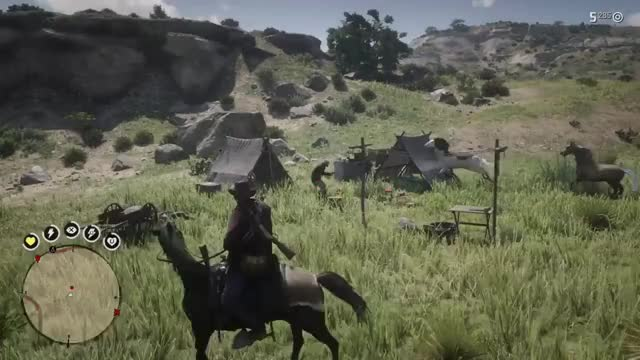Watch and share [RDR 2] The Horse Just Wanted To Fly GamePhysics GIFs on Gfycat