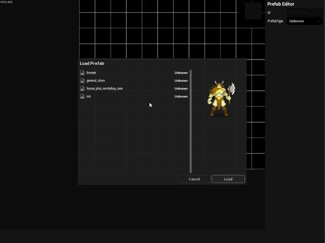 Watch In-game Map Prefab editor GIF by Roguecaster Games (@roguecastergames) on Gfycat. Discover more dividedkingdoms, roguelike, roguelikedev GIFs on Gfycat