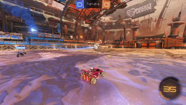 Watch Goal 1: Bearded Manic GIF by Gif Your Game (@gifyourgame) on Gfycat. Discover more Gif Your Game, GifYourGame, Goal, Hilzar, Rocket League, RocketLeague GIFs on Gfycat