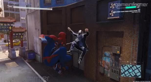 Watch and share Spiderman Ps4 GIFs by Jeirin on Gfycat