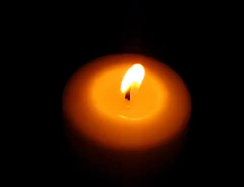 Watch and share A Beautiful Burning Candle GIFs on Gfycat