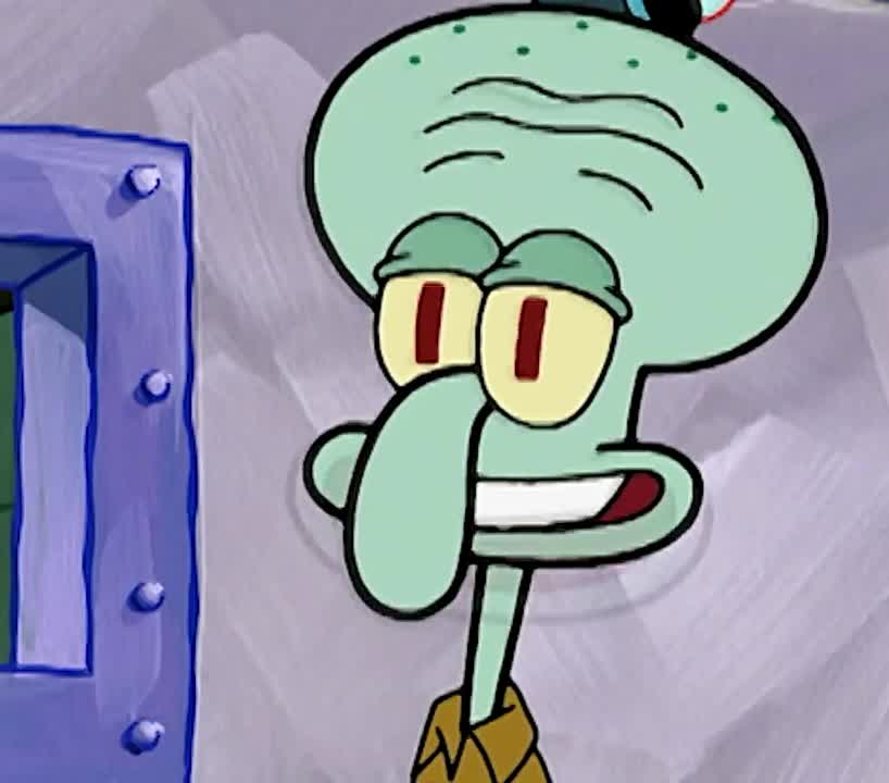 I, aha, boss, cartoon, deal, gotcha, know, mean, nickelodeon, ok, safe, secret, spongebob, squarepants, squidward, sure, what, wink, winking, you, Squidward's wink GIFs