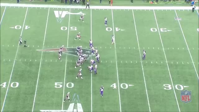 Watch and share Vikings Patriots Incomplete To Edelman GIFs by whirledworld on Gfycat