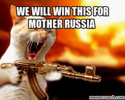 Watch and share We Will Win This For Mother Russia GIFs on Gfycat