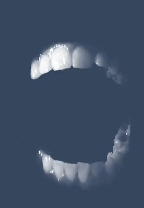 Watch and share Teeth Fall GIFs on Gfycat