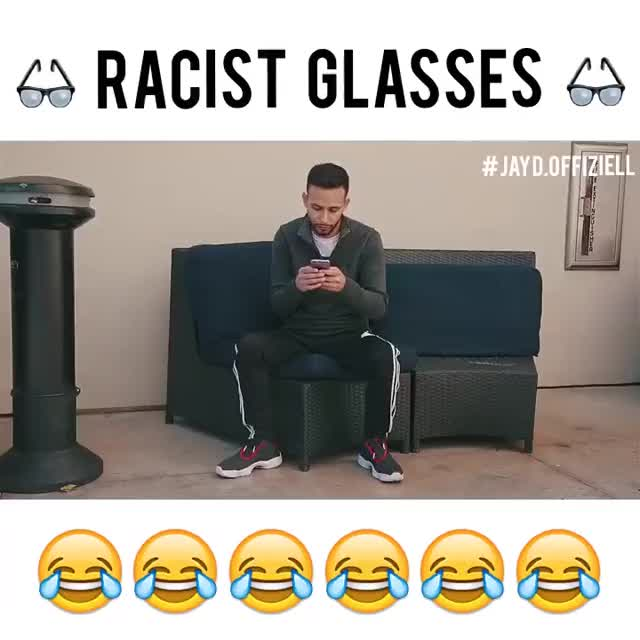 Watch and share Glasses GIFs and Racist GIFs by Reactions on Gfycat