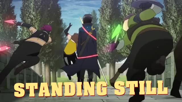 Watch Standing Still, The Outplays, Mechanical God GIF on Gfycat. Discover more Abridge, Abridged, Anime, Episode, Gigguk, Review, Sword Art Online, funny, parody, spoof GIFs on Gfycat