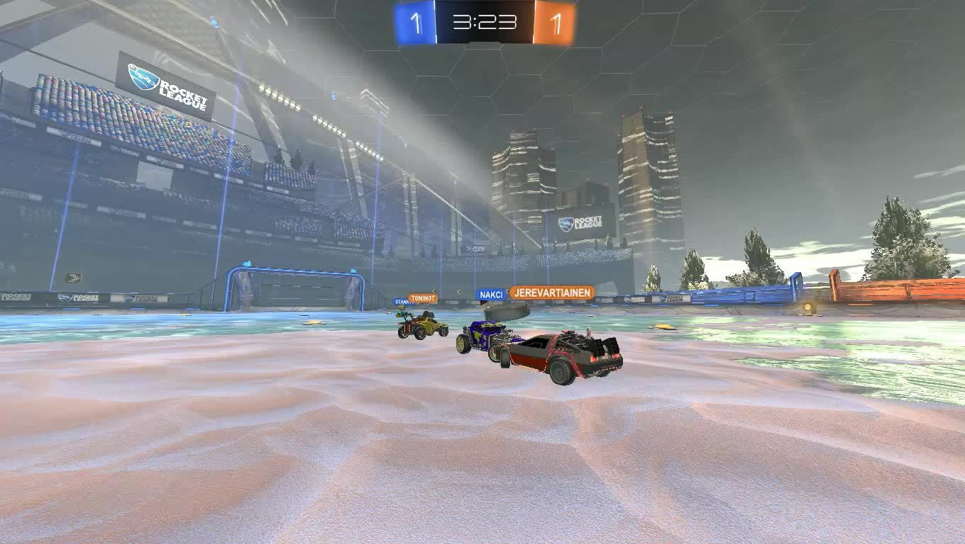 rocket league, rocketleague, Hey.. No kissing on my watch! GIFs