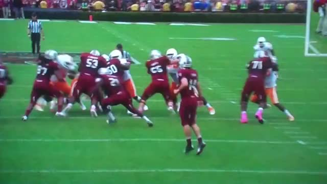Watch Marcus Lattimore Breaks right knee GIF on Gfycat. Discover more Football, Knee, Marcus, Snap, USC, bone, broken, carolina, lattimore, leg, south, tennessee, university, ut GIFs on Gfycat