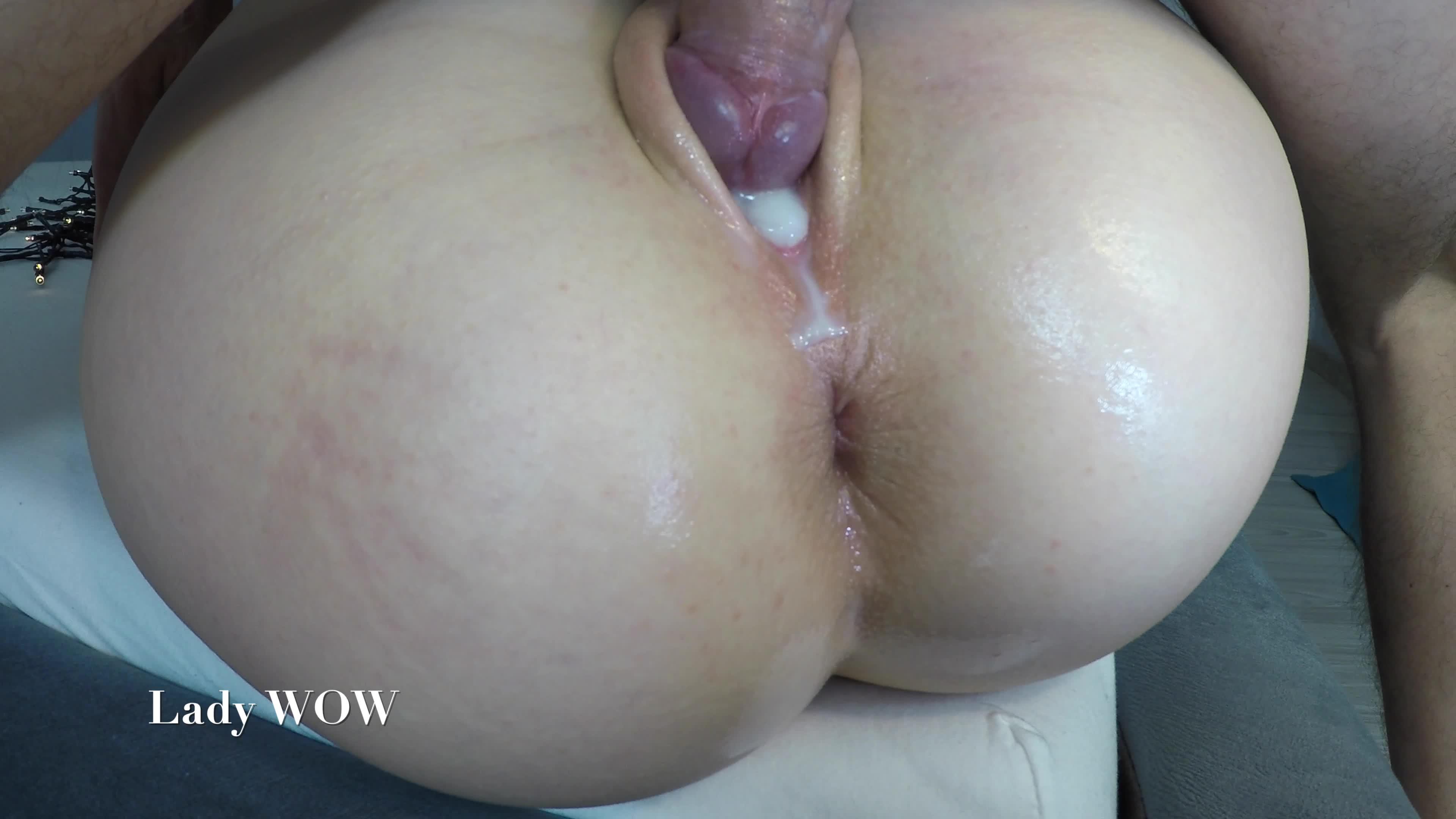 Latina big ass creampie