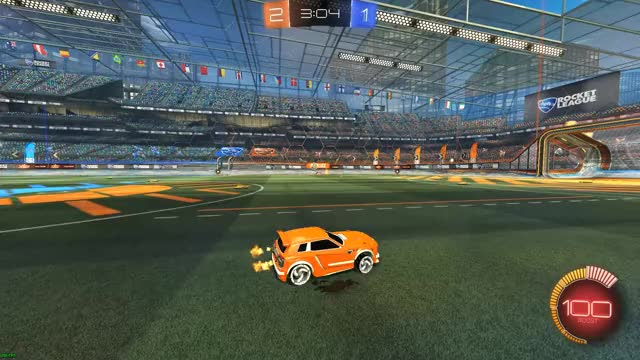 Watch and share Rocket League GIFs and Own Goal GIFs by dontevenmaatta on Gfycat