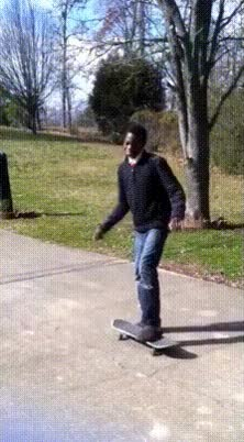 Watch and share Skateboard Triple Fail GIFs on Gfycat