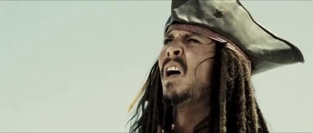 Watch and share Captain Jack Sparrow Run GIFs on Gfycat