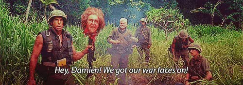 Watch and share Tropic Thunder GIFs and Ben Stiller GIFs on Gfycat