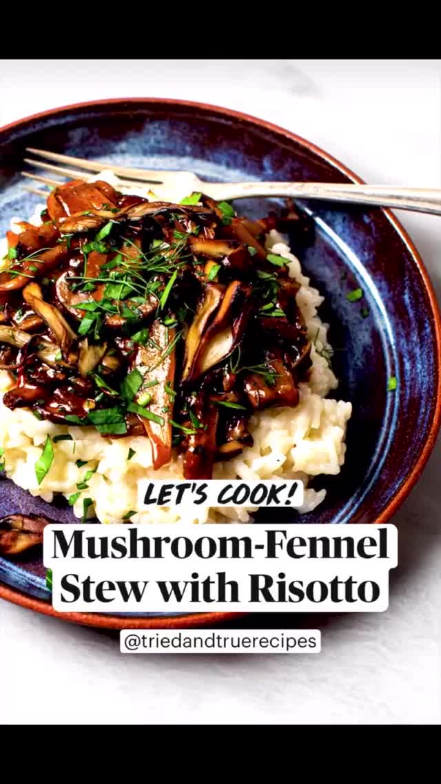 Watch and share Mushroom Stew Risotto GIFs by triedandtruerecipes on Gfycat