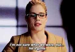 Watch How many more of you masks are there? GIF on Gfycat. Discover more *, 3x10, arrowedit, felicity smoak, s3 GIFs on Gfycat