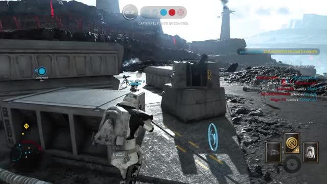 Watch Droid emote GIF on Gfycat. Discover more StarWarsBattleffront, StarWarsBattlefront, mistyfront GIFs on Gfycat