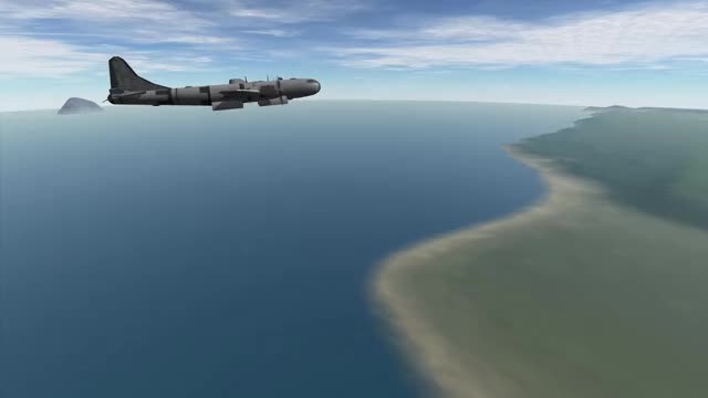 Watch KSP B-29 GIF on Gfycat. Discover more Aircraft, Bomber, KSP, Kerbal Space Program, Kerbal Thunder GIFs on Gfycat
