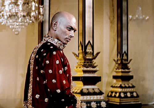 "Watch and share Bellecs: "" Yul Brynner In The King And I (1956) "" GIFs on Gfycat"
