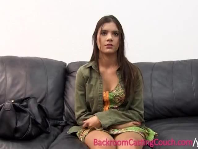 legal age teenager Sexy Petite Insemination on Casting Couch
