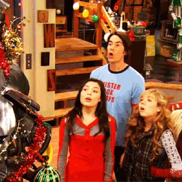Watch and share 'iCarly' Christmas GIF GIFs on Gfycat