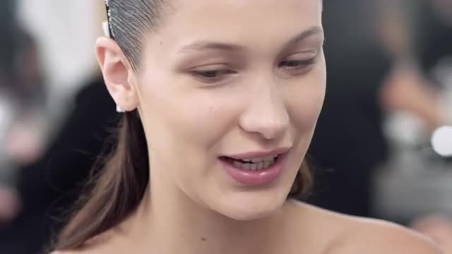 Watch this bella hadid GIF by @winstonchurchillin on Gfycat. Discover more 2016, bella hadid, christian dior, dior GIFs on Gfycat