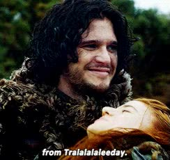 Watch and share Mine Game Of Thrones 10k Jon Snow Ygritte Gotedit Gameofthronesdaily GIFs on Gfycat
