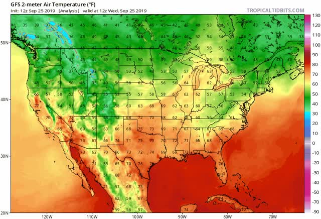 Watch and share Gfs T2m Us Fh-72-384 GIFs by The Watchers on Gfycat
