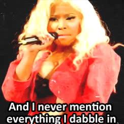 dabble, i dabble, nicki minaj, Nicki Minaj Dabble GIFs