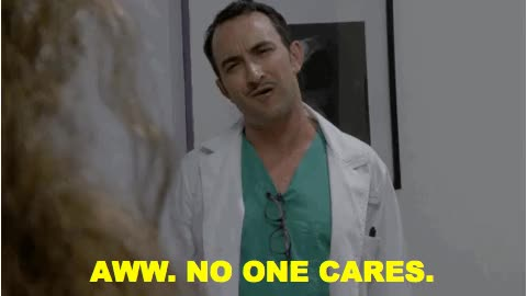 Watch and share Nobody Cares GIFs on Gfycat