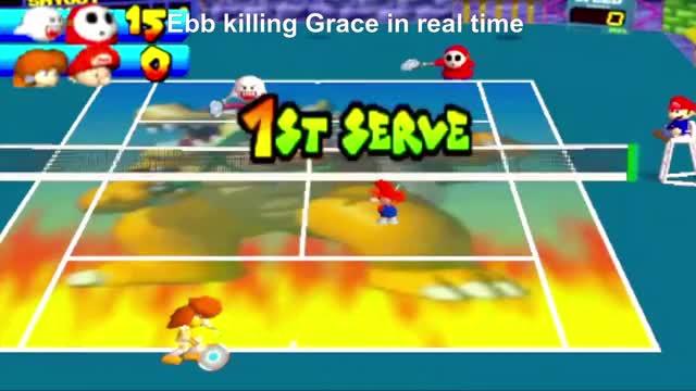 Watch and share Erizabeth Rodríguez GIFs and Mario Tennis N64 GIFs on Gfycat