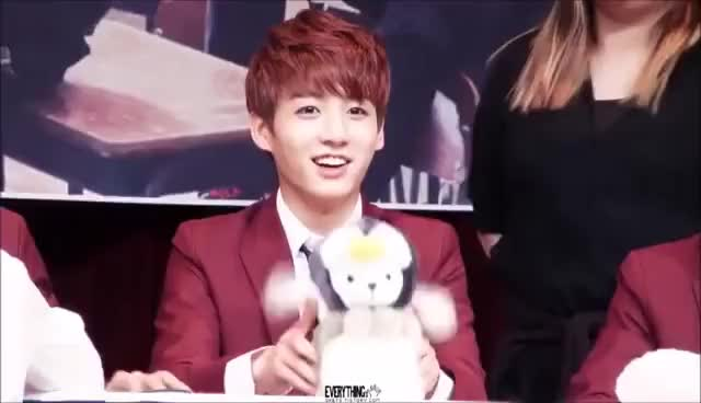 Watch BTS JUNGKOOK CUTE MOMENTS (~ ̄▽ ̄)~ GIF on Gfycat. Discover more related GIFs on Gfycat