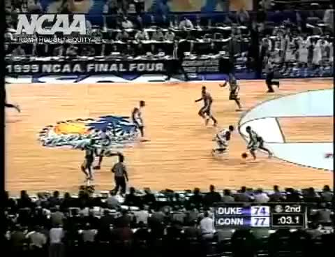 Watch 1999 NCAA  Basketball Championship GIF on Gfycat. Discover more related GIFs on Gfycat