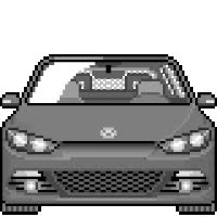 Watch and share VW Sirocco - Gray animated stickers on Gfycat
