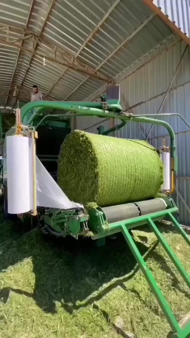 Watch and share Wrapping Up Silage GIFs by Boojibs on Gfycat