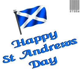 Watch and share Happy St Andrews Day Waving Scotland Flag Animated Picture GIFs on Gfycat