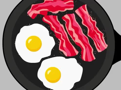 bacon, breakfast, brunch, eating, egg, feed me, food, hangry, hungry, lunch, meal, sunday, yum, Breakfast GIFs