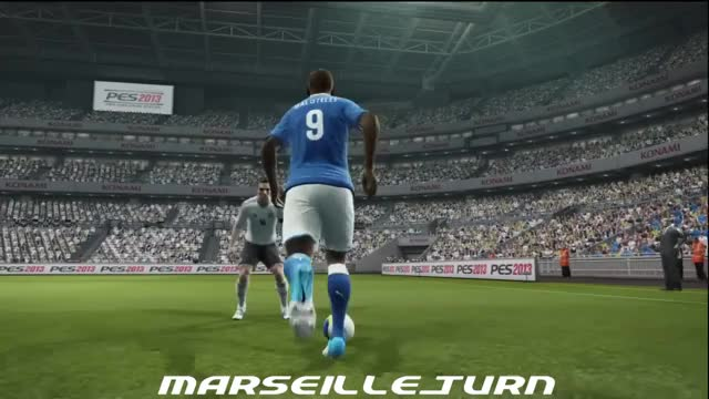 Watch PES 2013 Marseille turn GIF by FIFPRO Stats (@rahspot) on Gfycat. Discover more related GIFs on Gfycat