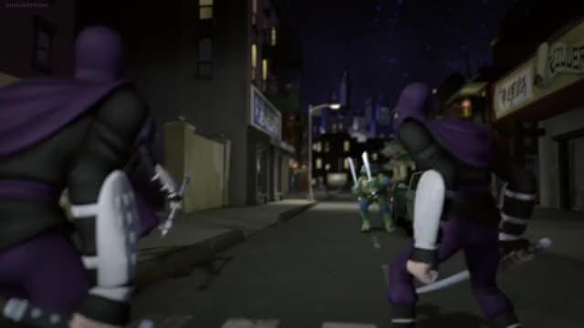 Watch and share Leo Slicing Foot Ninjas GIFs by AzureBeast on Gfycat