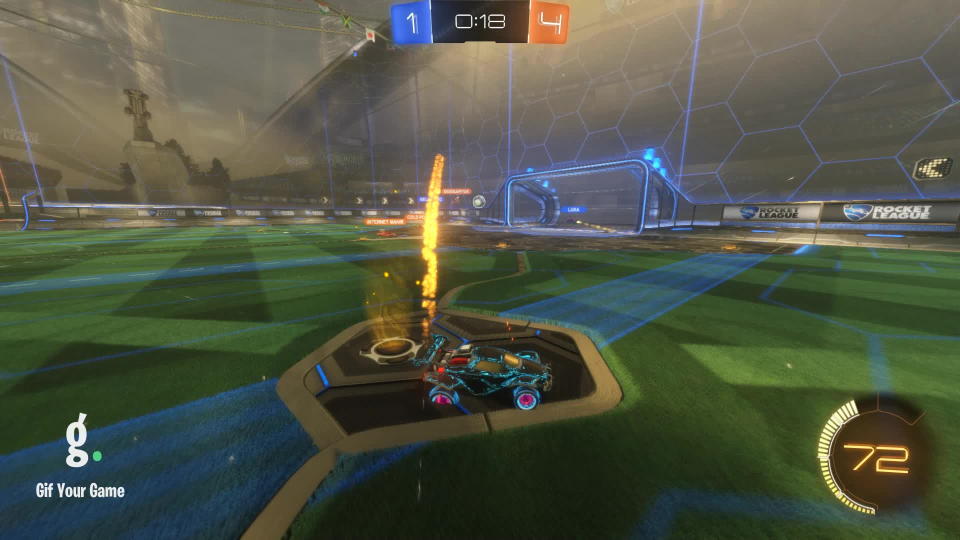 Demo, Gif Your Game, GifYourGame, Rocket League, RocketLeague, Timper [NL], Demo 2: Timper [NL] GIFs