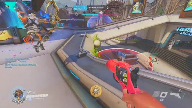 Watch and share Overwatch GIFs and Ana GIFs by Lily Lovely on Gfycat