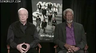 Watch and share Morgan Freeman Falling Asleep On GIFs on Gfycat