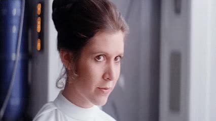 Watch this blush GIF by The GIF Smith (@sannahparker) on Gfycat. Discover more blush, blushing, cute, flirt, princess leia, smile, star wars GIFs on Gfycat