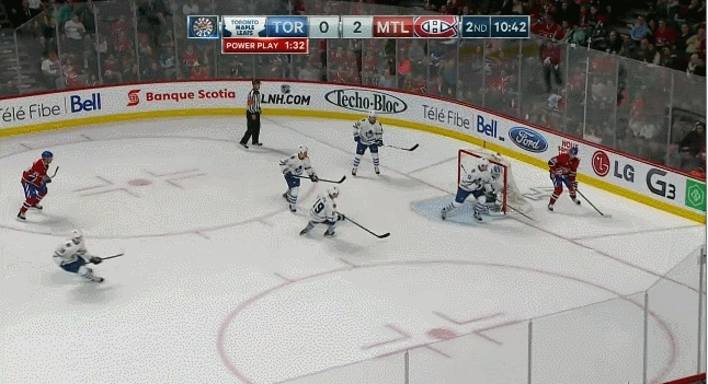 The Habs use Price during the penalty kill GIFs