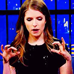 Watch Anna Kendrick GIF on Gfycat. Discover more akendrickedit, anna kendrick, by katie, gif, gifs, interview GIFs on Gfycat