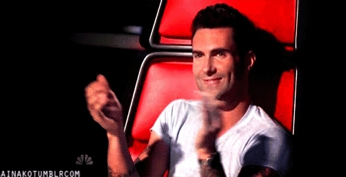 adam levine, applause, clap, clapping, respect, slow clap, Adam Levine Clapping GIFs
