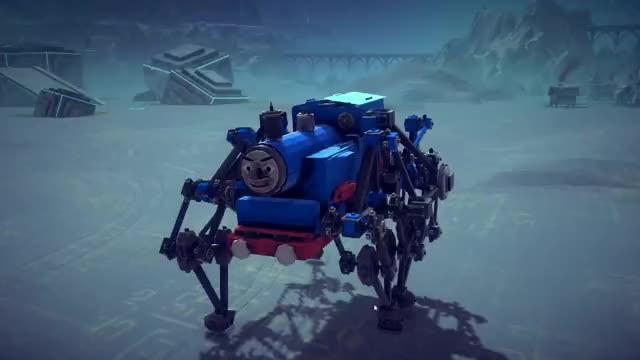 "Watch Besiege Best Creations -  Transformers ""Devastator"" 7 in 1 Transformer, Tank Helicopter & More! GIF on Gfycat. Discover more besiege, besiege best creations, besiege gameplay GIFs on Gfycat"
