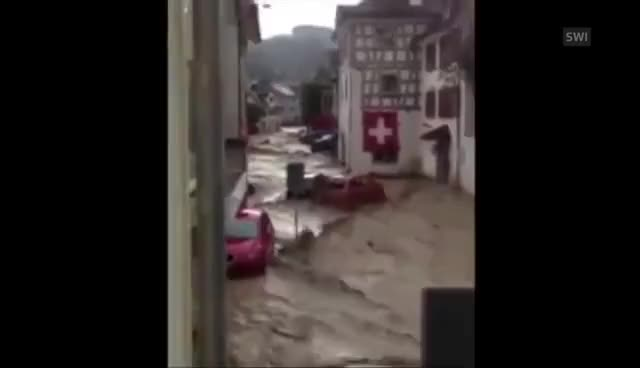 Watch Floods in Switzerland GIF on Gfycat. Discover more dam GIFs on Gfycat